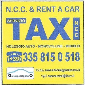 TAXI NCC AUTONOLEGGIO AUTO MINIBUS BUS
